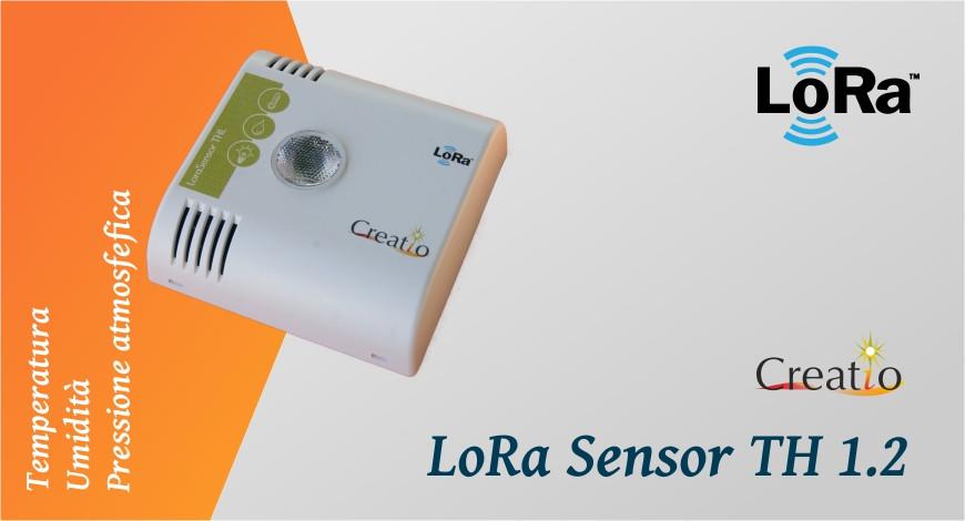 Creatio LoRa Sensor TH 1.2